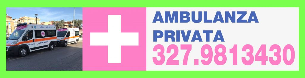 Ambulanze Private Roma Sud